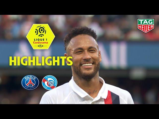 Paris Saint-Germain - RC Strasbourg Alsace ( 1-0 ) - Highlights - (PARIS - RCSA) / 2019-20