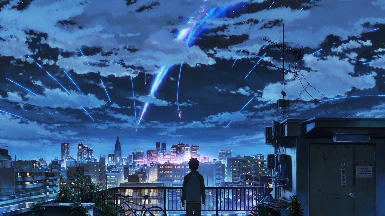 Cute Couples Wallpapers Desktop Beautiful Anime Scenery【amv】 Toui Sora He 1080p Hd