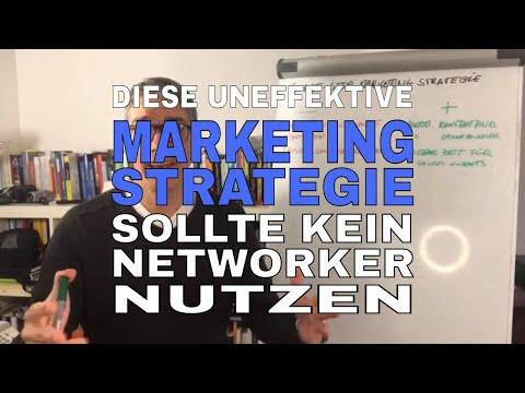 Marketing Strategie - diese Marketing Strategie sollte KEIN Network Marketer umsetzen‼