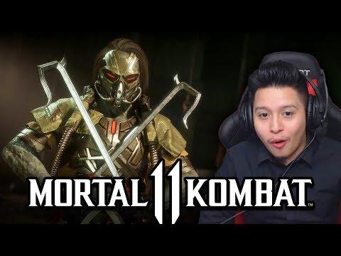Mortal Kombat : Official Kabal Reveal Trailer - MY REACTION!