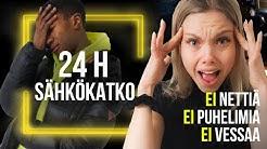 24H ILMAN SÄHKÖÄ - MELKEIN KAIKKI OLI PE*SEESTÄ