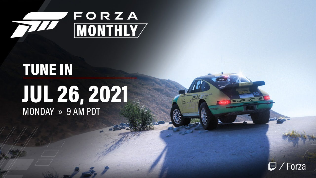 Forza Monthly | July 2021