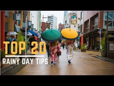 Top 20 Things - Tokyo in the Rain