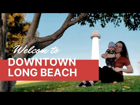 WELCOME TO DOWNTOWN LONG BEACH, CA!   PINOY VLOG