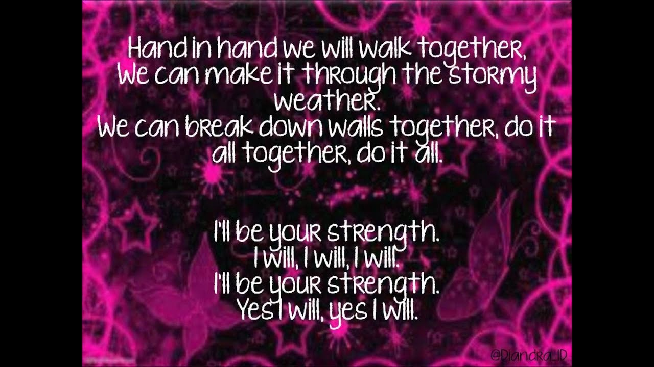 the wanted i ll be your strength lyrics the wanted i ll be your strength lyrics