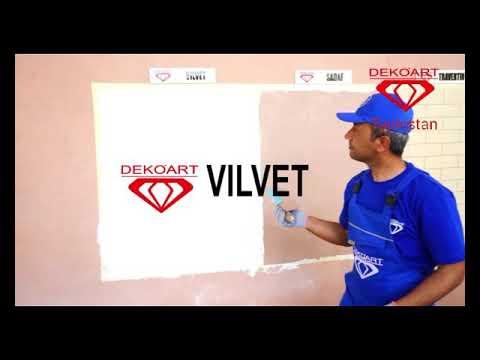 Нанесение VILVETA от Компании Deko'Art Tajikistan