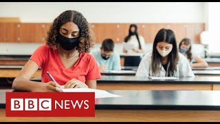Boris Johnson defends plans for teachers to decide exam grades - BBC News
