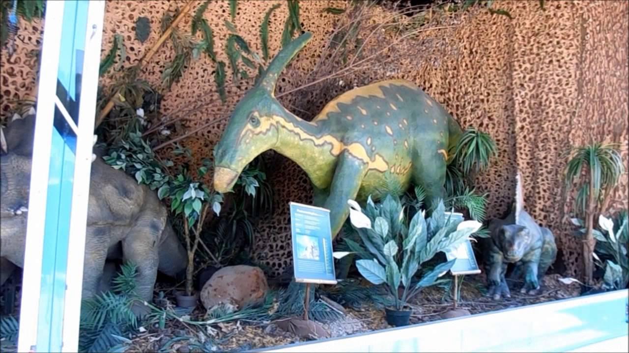 Дино парк в Германии. Парк динозавров. Выставка динозавров ...