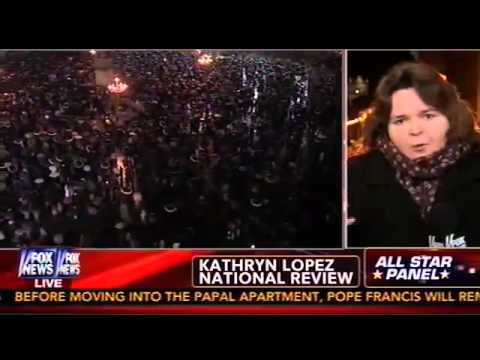 English News - NR's Kathryn Jean Lopez Discusses Pope Francis on Special Report, Part 1