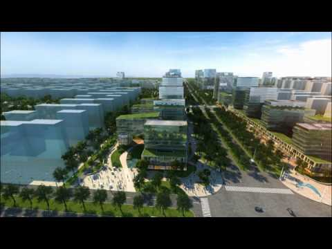 3D Architectural Masterplan Animation in China For BDP London