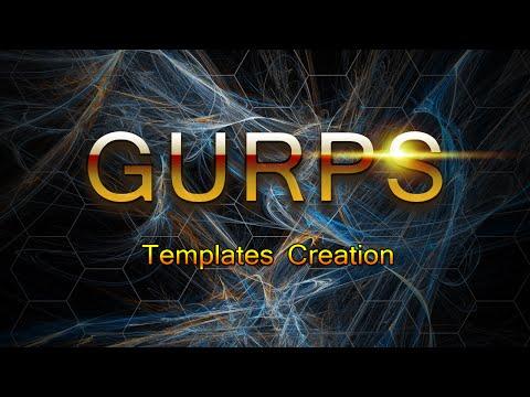 GURPS Templates Creation