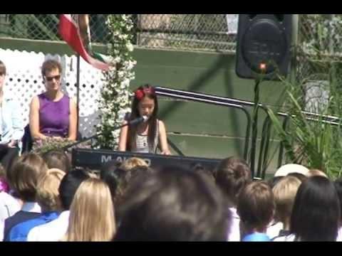 Katherine Ho singing Imagine (John Lennon)