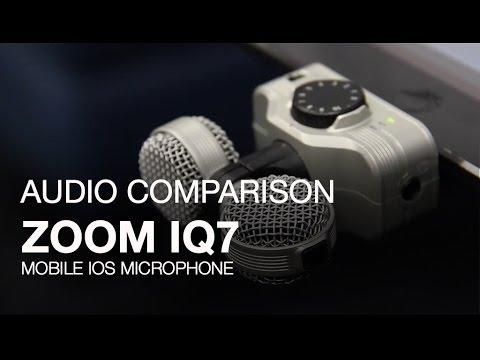 Zoom IQ7 Audio Comparison