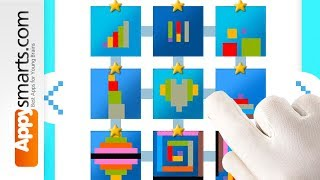 Educational Math Puzzles for Preschoolers: Simple Shapes  [iPhone,iPad,Android]