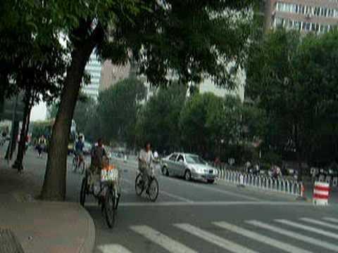 A Scene of DaLi Street, TianJin China