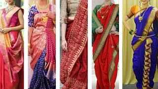 Unique ways to drape saree?  H…