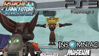 Ratchet & Clank Future A Crack in Time Gameplay Walkthrough Part 18 Insomniac Museum - Playstation 3