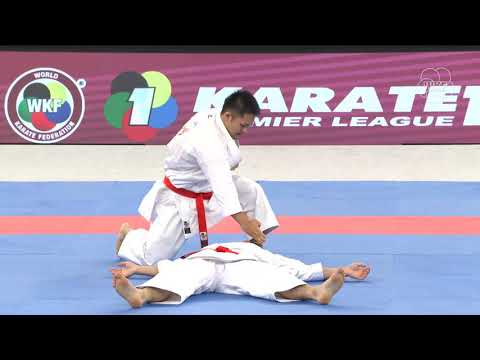 Japan vs Turkey Kata Team. Tokyo Karate1Premier League 2019 Bronze Medals