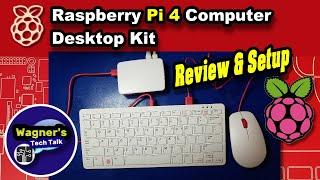 Raspberry Pi 4 Desktop Kit: Overview, Setup & RPi4 Review! Raspberry pi 4 model b 4gb + how to