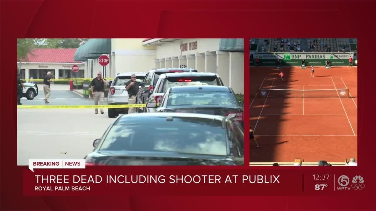 'They're shooting!': Gunman kills two, then self, inside Royal Palm ...