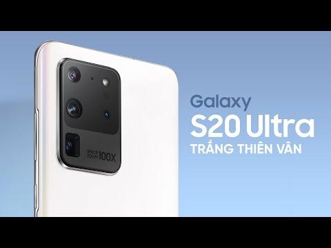 Mở hộp Galaxy S20 Ultra trắng tinh vân: rẻ hơn cả iPhone 11