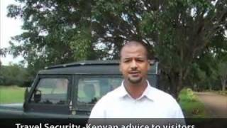 Travel Security -Kenyan advice to foreign visitors (street crime, carjackings, kidnappings, etc)