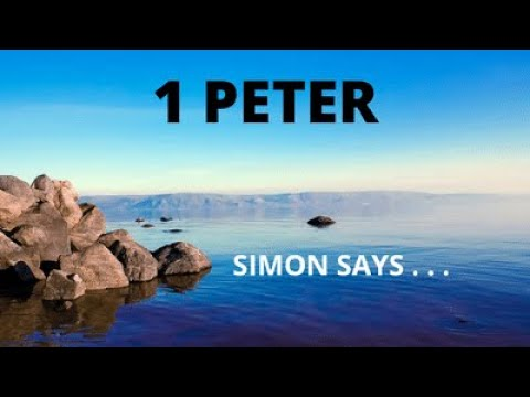 1 Peter Simon Peter Timeline 9 25 16