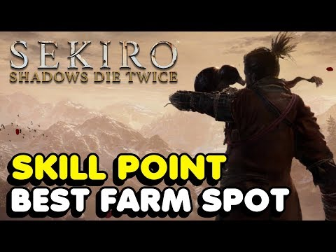 Here's a quick, simple spot to farm XP and gold in Sekiro's endgame