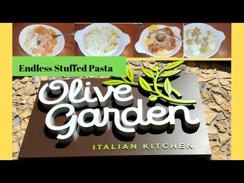 Olive Garden Endless Stuffed Pasta