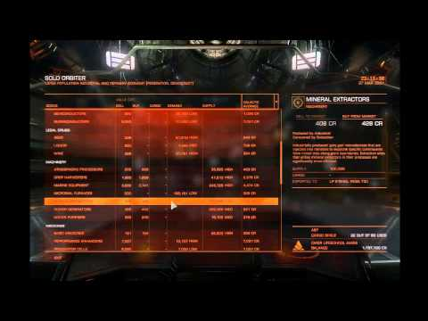 Playguide to Elite Dangerous: Voyage 3: High Value Local Trades