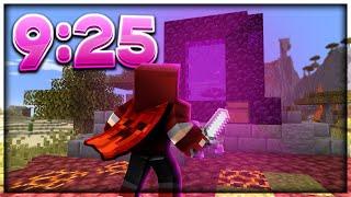 Beating Minecraft in less than 10 Minutes   FSG Speedrun