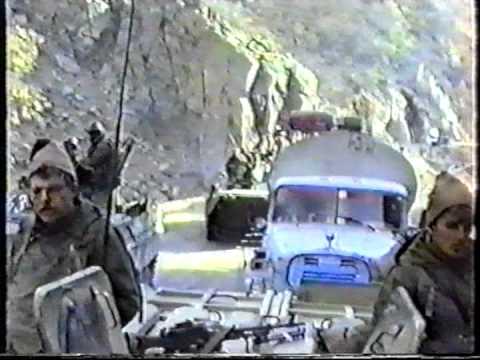 Дорога Кабул - Саланг - Видео онлайн