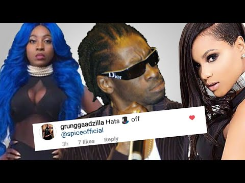 Bounty Killer Says Spice Is the Best Female Artist No Ishawna Or Shenseea For 2017!!