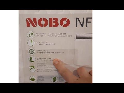 Конвектор NOBO NFC 4S 07 для постоянного отопления дома.