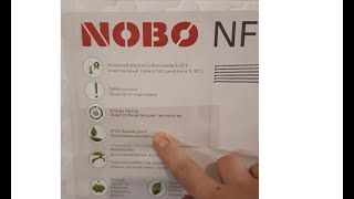 конвектор NOBO NFC 4S 07 для постоянного отопления дома