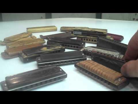 Custom Harmonicas Woodbone