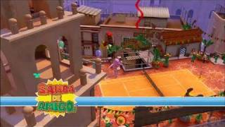 SEGA Superstars Tennis Xbox 360 Gameplay - Samba de Amigo