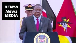 Uhuru Kenyatta on Blue Economy and Coal Exploration at a Conference with President of Mozambique!!!