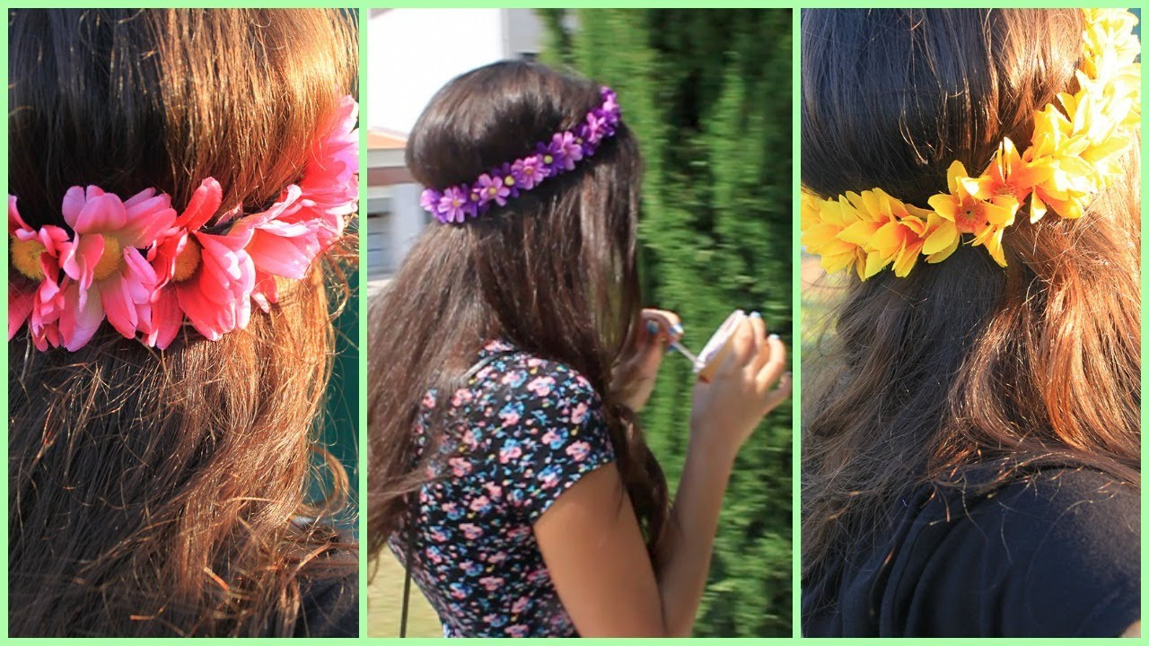 Flower Crown Headband Diy