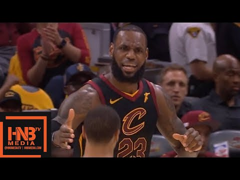 Cleveland Cavaliers vs Boston Celtics 1st Half Highlights / Game 3 / 2018 NBA Playoffs