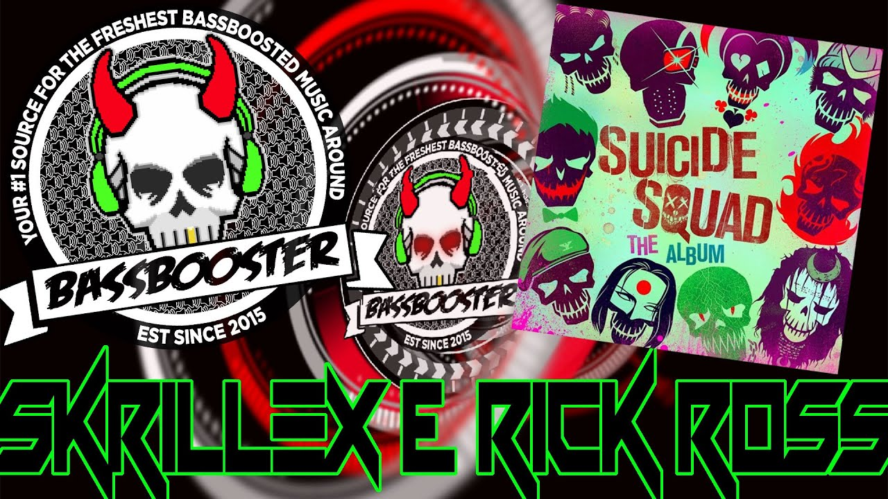 Skrillex Rick Ross Purple Lamborghini Bassboosted Youtube