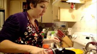 """Sing For Your Supper """"rethinking Thanksgiving"""" Port-infused Cranberry Sauce"""