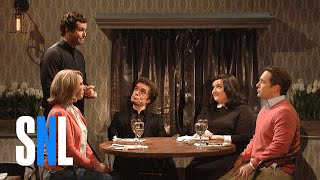 Trendy Restaurant - SNL(A couple (Peter Dinklage, Aidy Bryant) takes their friends (Vanessa Bayer, Beck Bennett) to a restaurant set in a former sex parlor. Subscribe to the SNL channel ..., 2016-04-03T20:18:57.000Z)