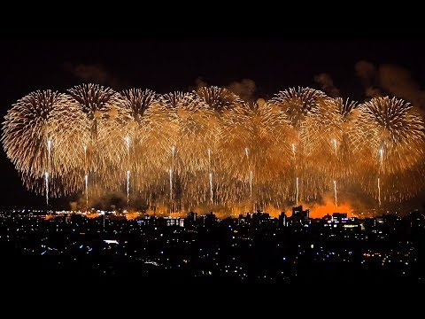 2018 長岡花� フェニックス [4K] Revival prayer fireworks�Phoenix】 2018年8月3日 Nagaoka Fireworks festival