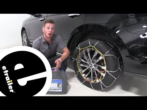 etrailer | Titan Alloy Snow Tire Chains Installation - 2018 Ford Expedition
