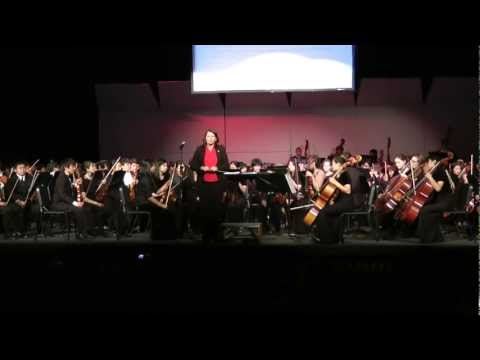 Combined Orchestras at Gunn Exchange Concert 2011