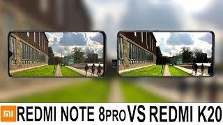 Redmi Note 8 Pro Vs Redmi K20 Camera Test