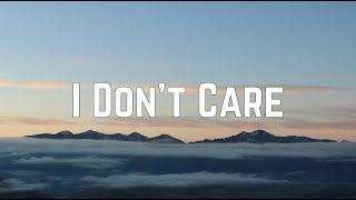 Baixar Ed Sheeran & Justin Bieber - I Don't Care (Lyrics)
