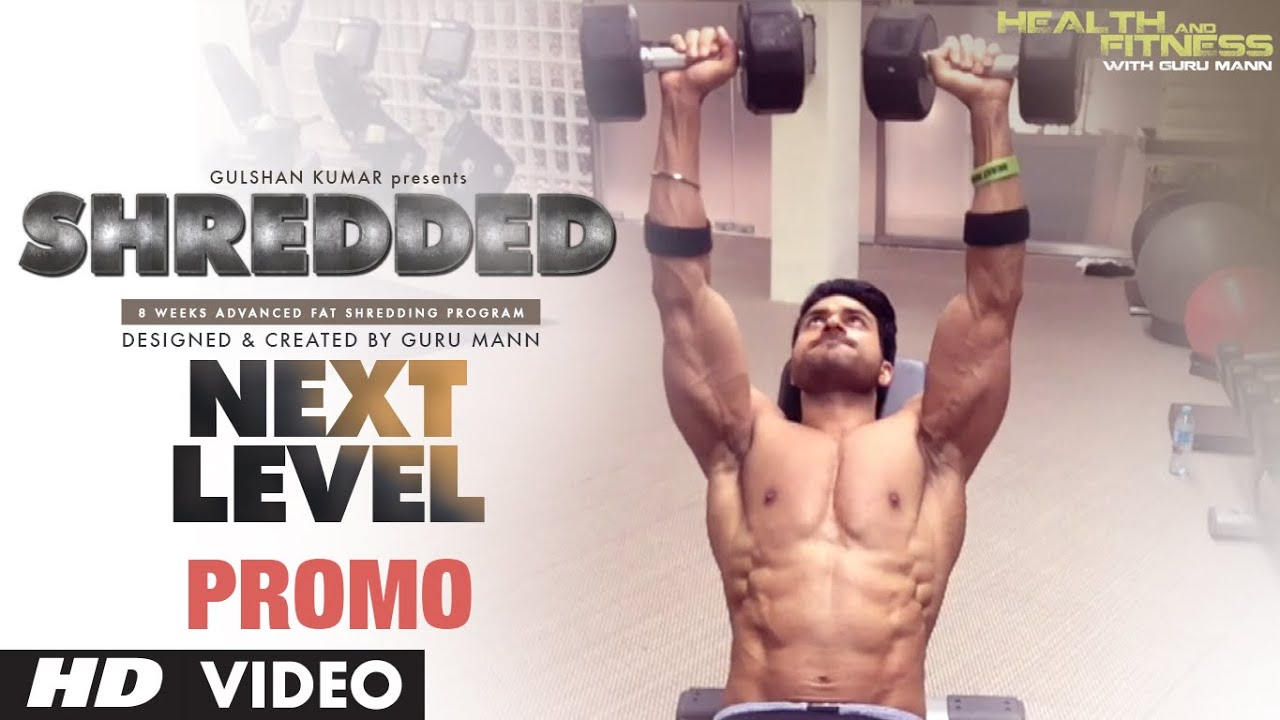 SHREDDED NEXT LEVEL PROMO | 8 Weeks Fat Shred Program