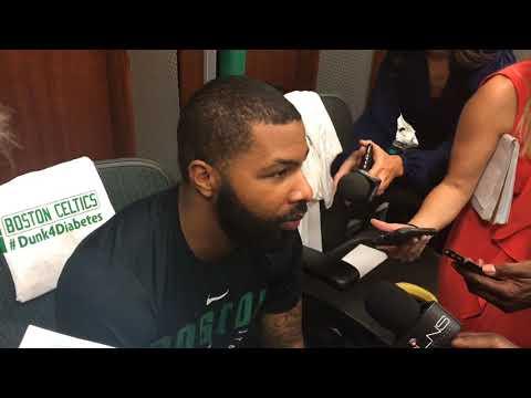 Marcus Morris, Boston Celtics forward, feeling good, will travel to OKC